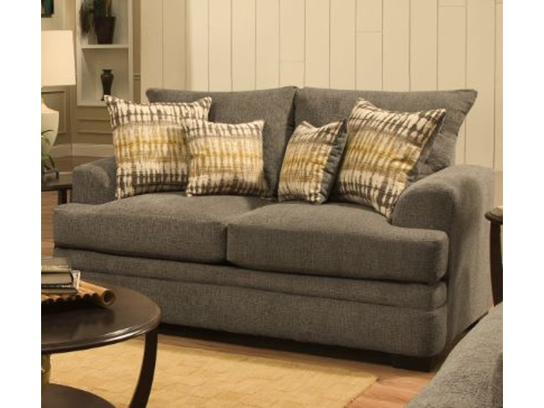 American Perth Smoke Loveseat On At Elgin Furniture In Euclid Cleveland Heights North Randall