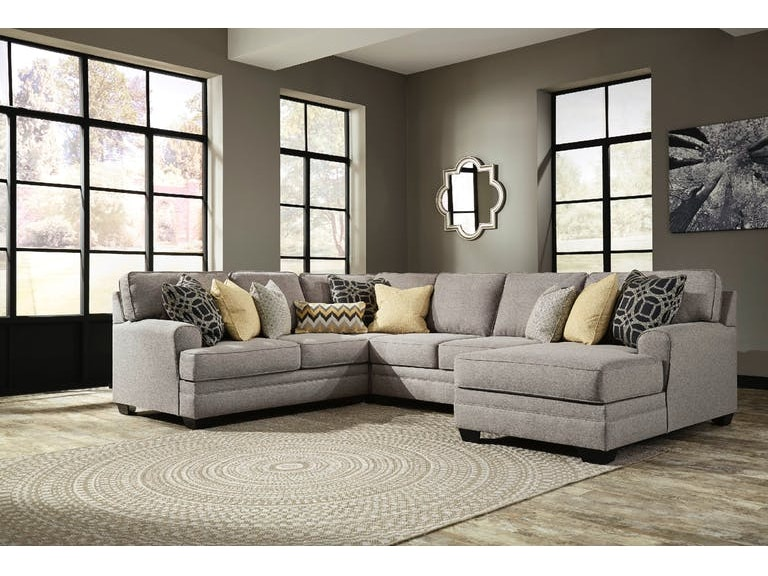 Signature Design By Ashley 4 Piece Sectional Wright Chaise On Sale