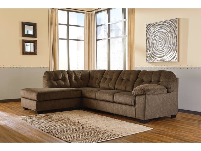 Signature Design By Ashley 2 Piece Sectional With Left Chaise On