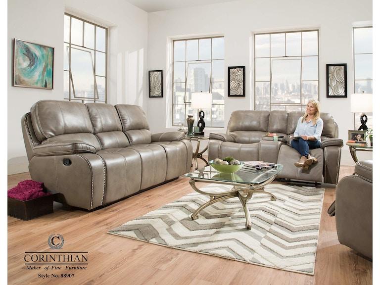 Corinthian Reclining Sofa Loveseat 88907 30 40