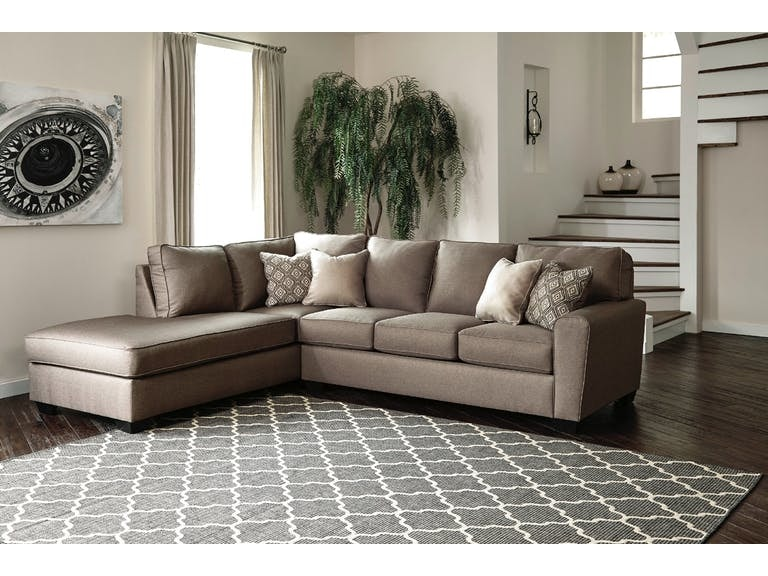 Signature Design By Ashley Calicho Cashmere Sectional On Sale At