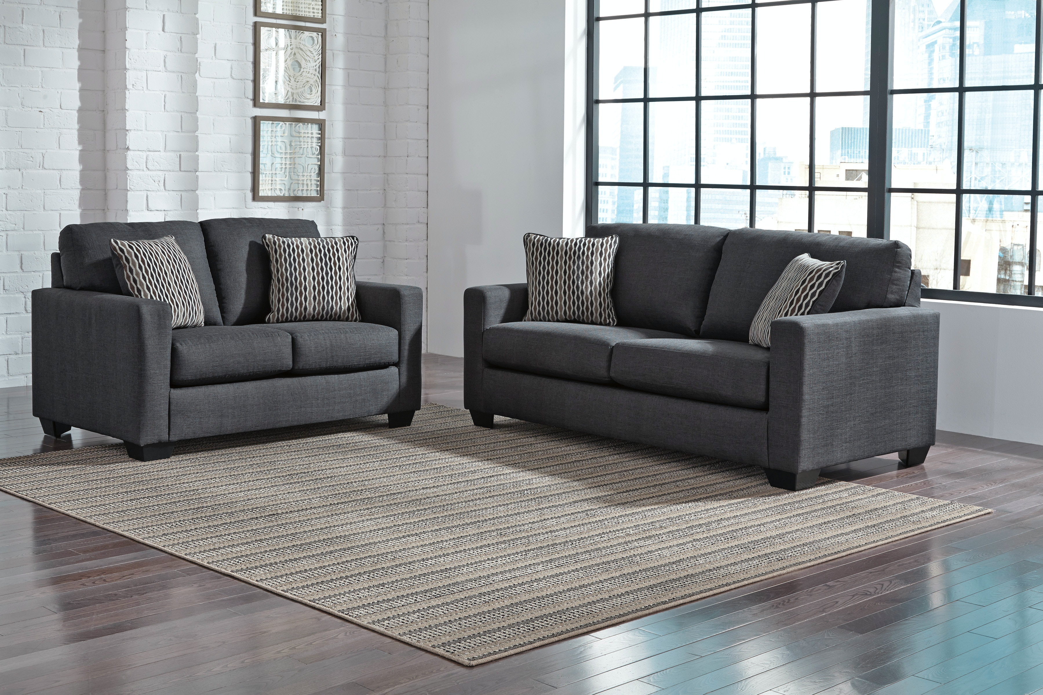 Signature Design By Ashley Sofa Loveseat On Sale At Elgin
