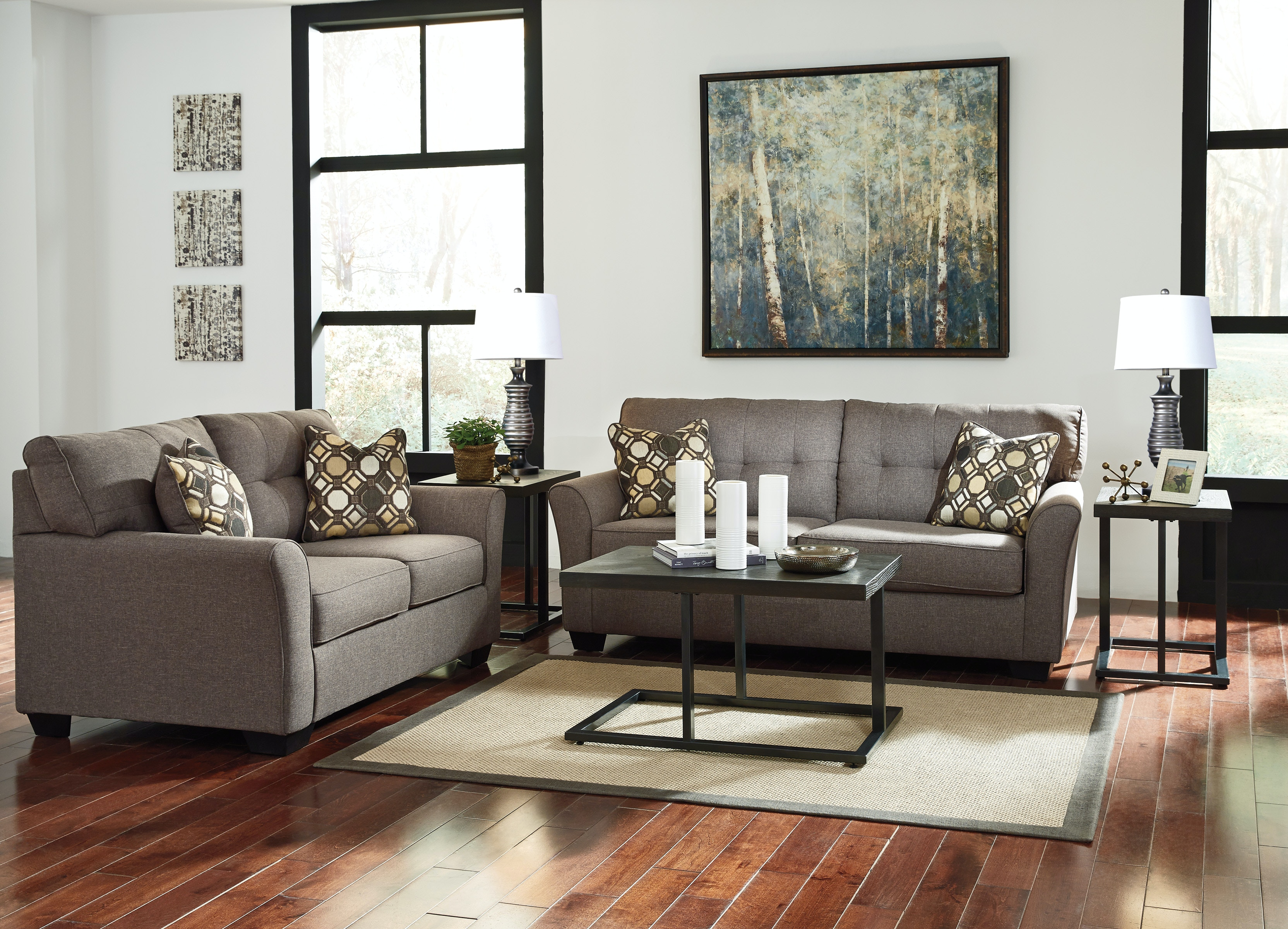 Design for less furniture Minimalist Interior Signature Design By Ashley Tribbee Sofa Loveseat On Sale At Elgin Furniture In Euclid Cleveland Heights North Randall Signature Design By Ashley Sofa Loveseat On Sale At Elgin
