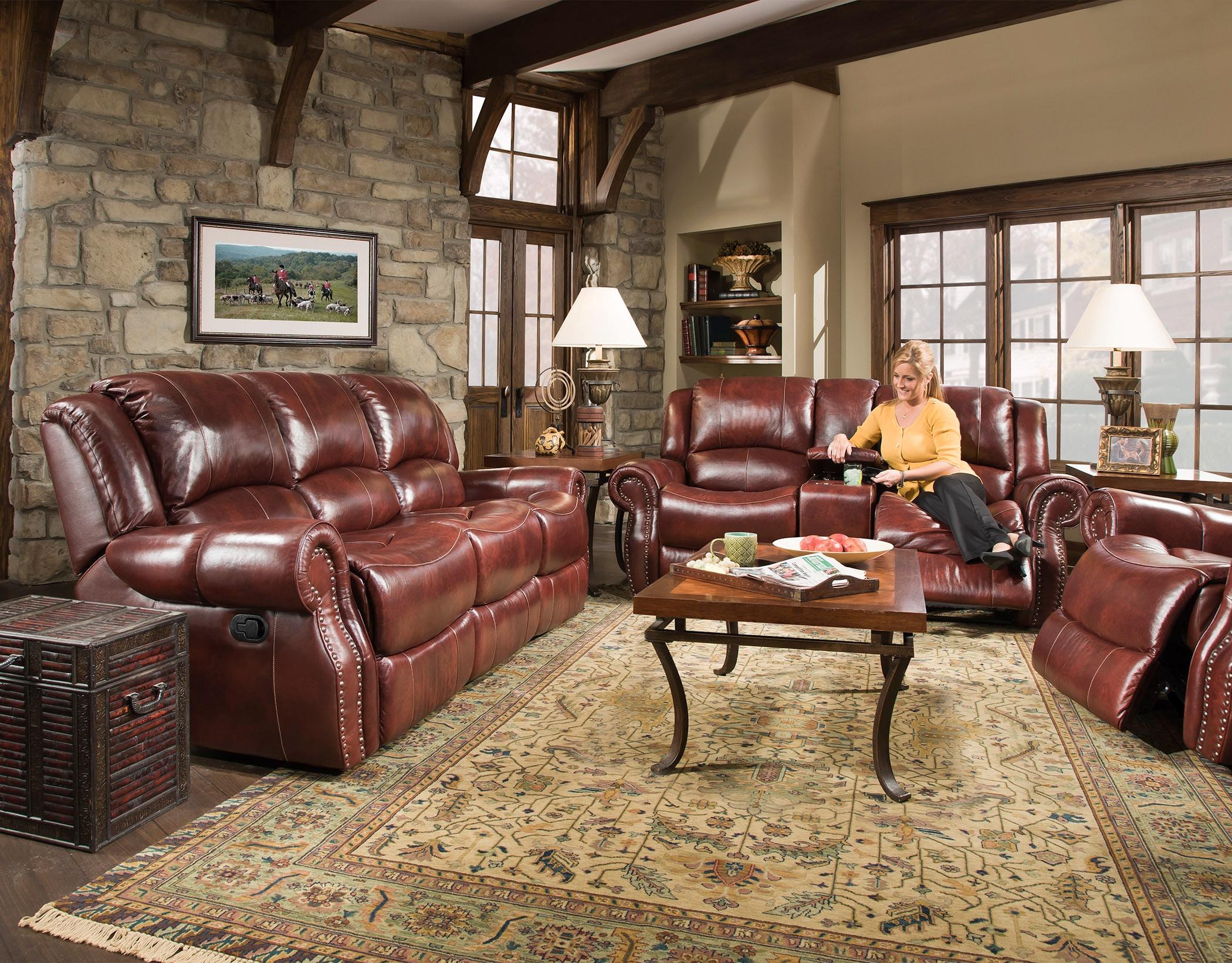 Corinthian Power Reclining Sofa 99901 39