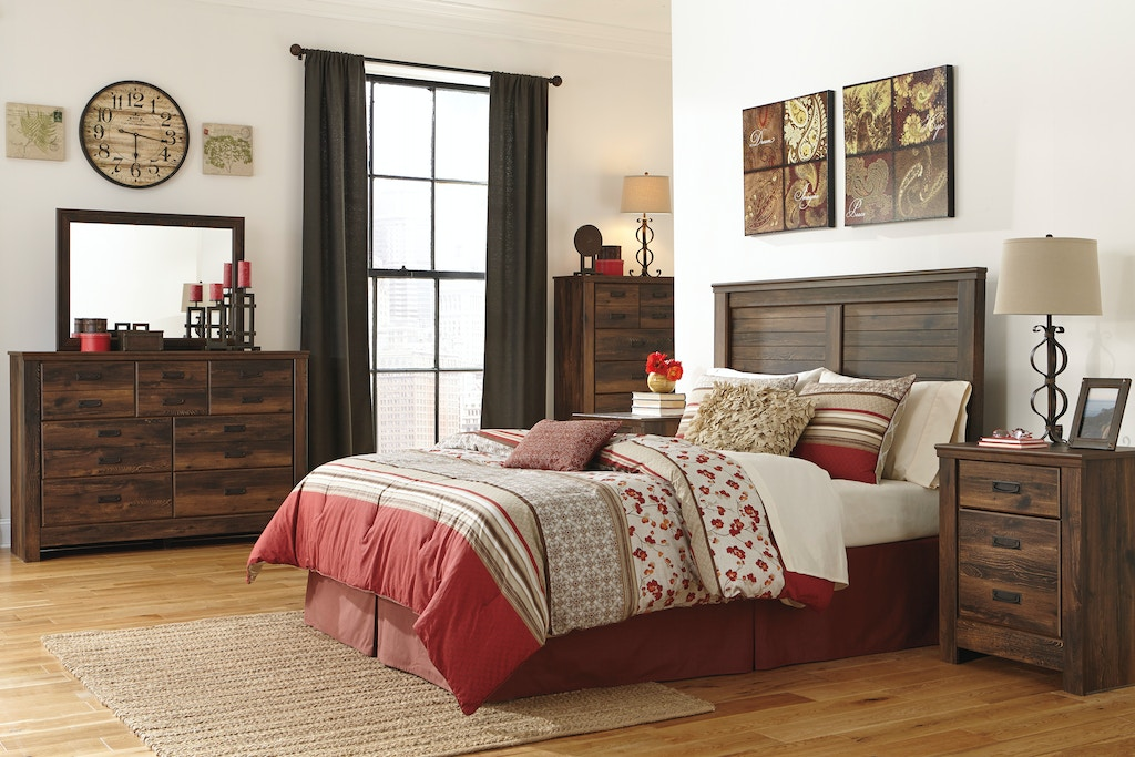 Signature Design By Ashley Quinden 3 Pc King Bedroom On Sale At Elgin Furniture Stores In Euclid