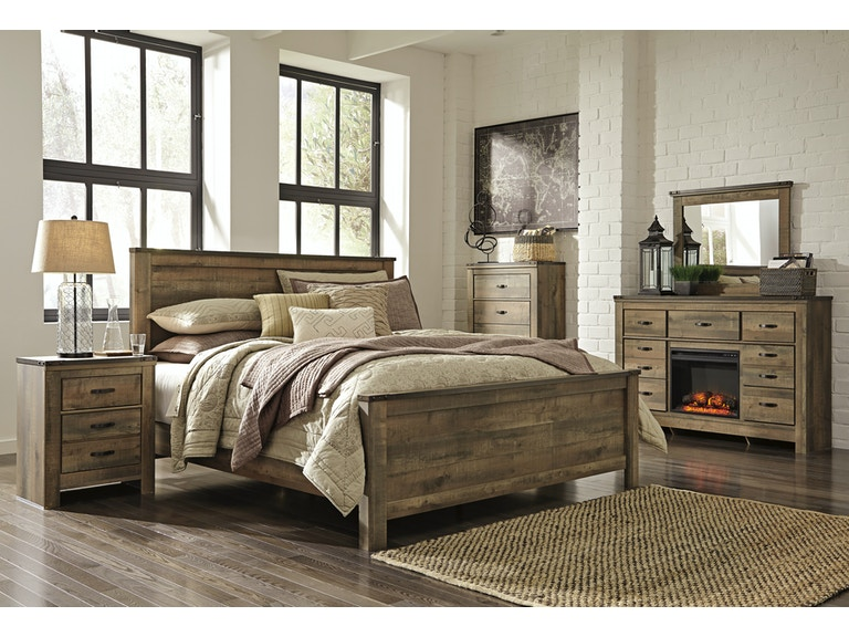 Signature Design By Ashley Trinell 5 Pc King Bedroom