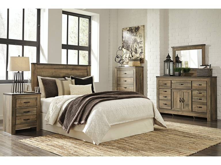 Signature Design By Ashley Trinell 4 Pc Queen Bedroom Set On Sale At Elgin Furniture Stores In