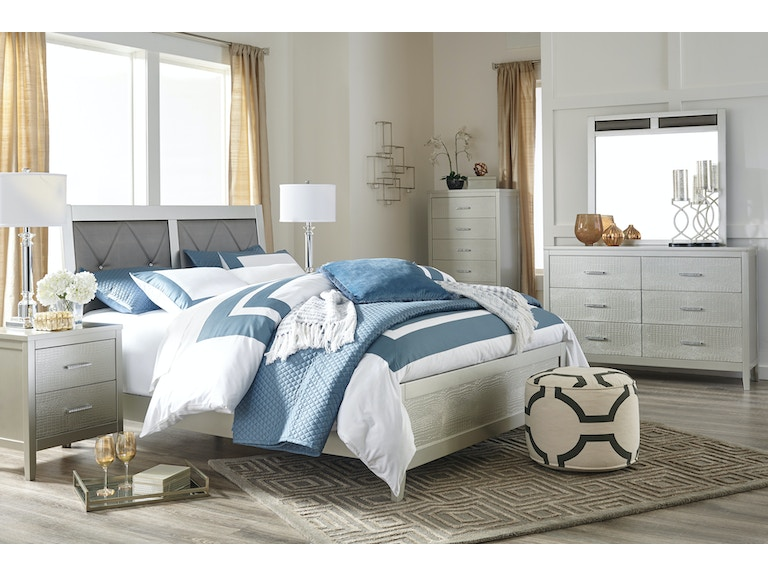 Signature Design By Ashley Olivet 4 Pc Queen Bedroom Set B560 31 36
