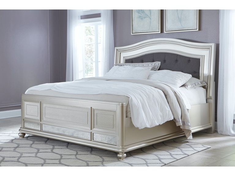 Signature Design by Ashley Coralayne Queen Upholstered Bed on sale ...