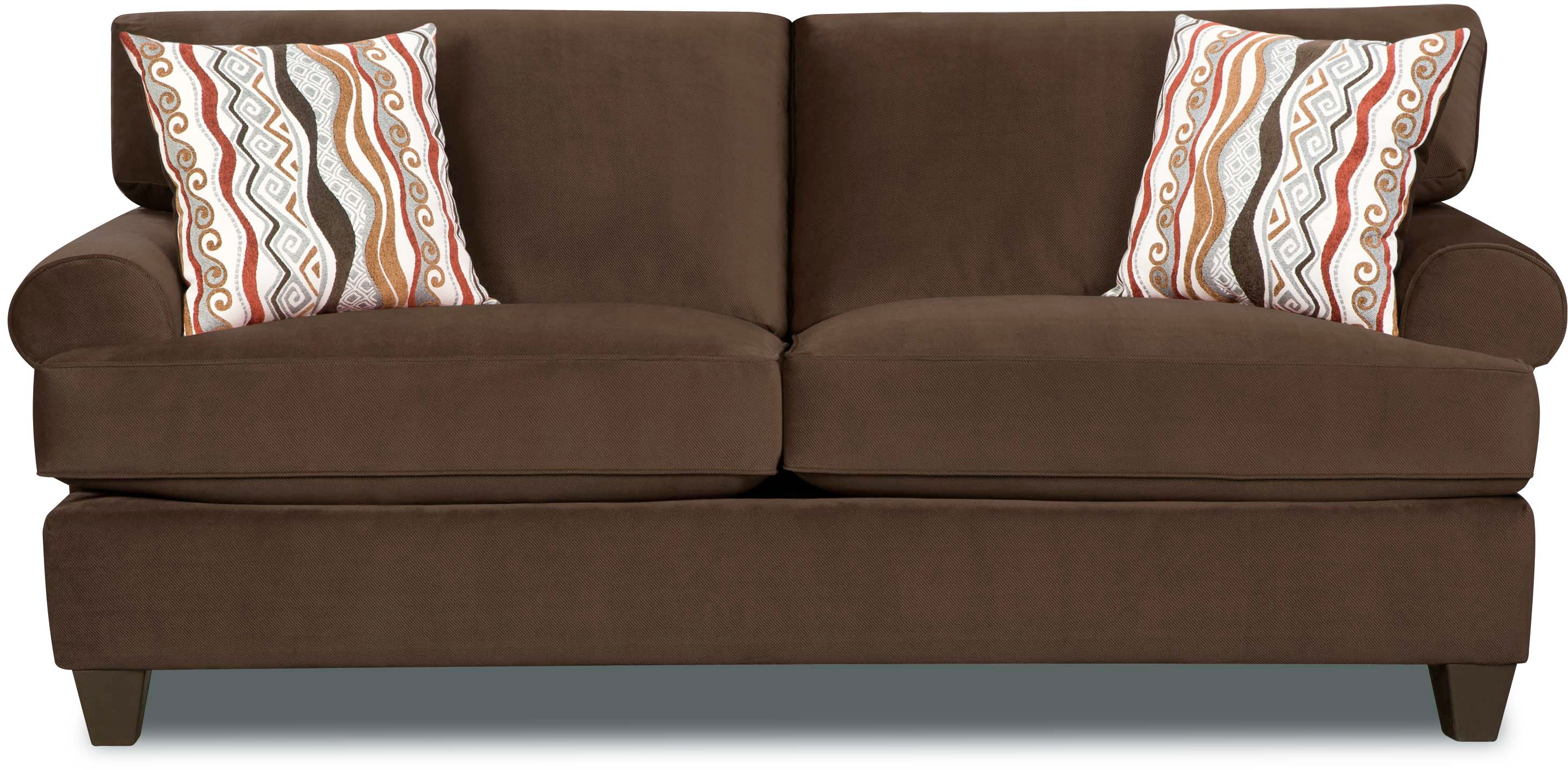Corinthian Jackpot Chocolate Sofa ~ How To Coordinate Throw Pillows For Sofa And Chairs