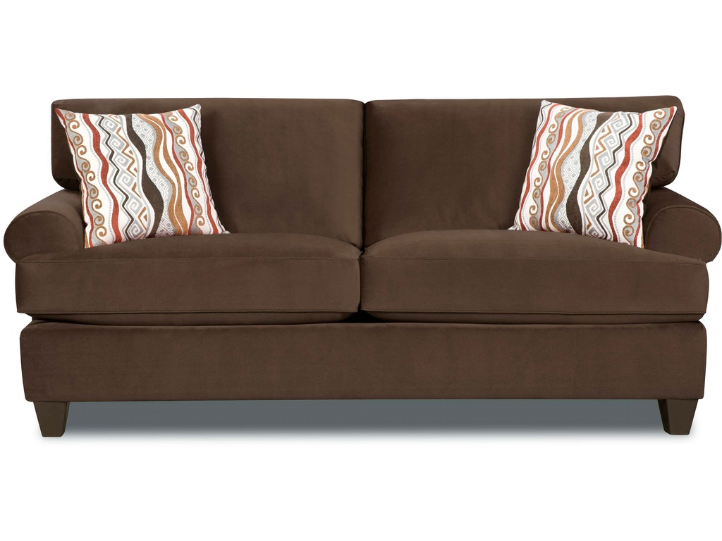 corinthian jackpot chocolate sofa on sale at elgin. Black Bedroom Furniture Sets. Home Design Ideas