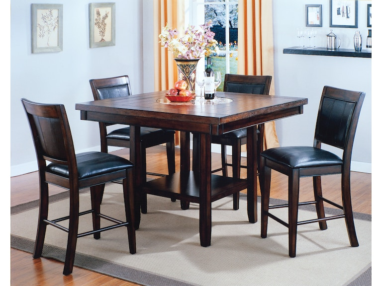 crown mark counter height table 4 chairs on sale at elgin