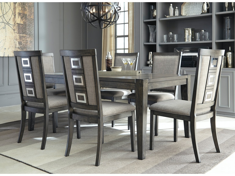 Signature Design By Ashley Chadoni Table 4 Chairs On Sale At Elgin