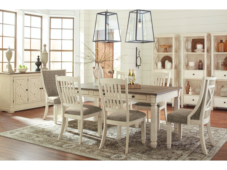 Signature Design By Ashley Bolanburg Table And 4 Chairs On Sale At