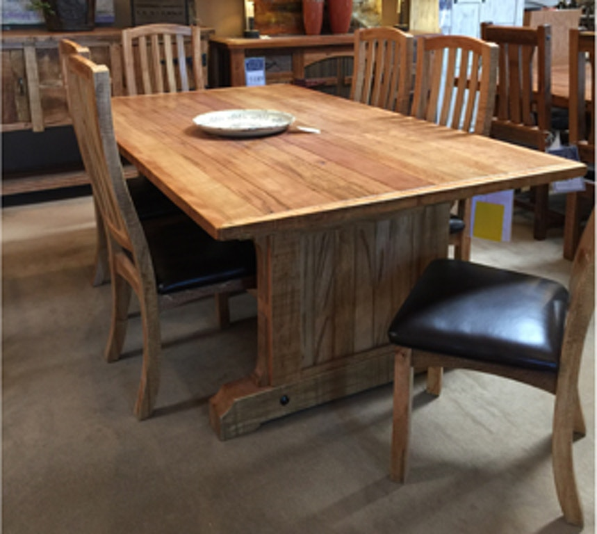 Sonoma Ridge Solid Wood 7 Piece Dining Table Set