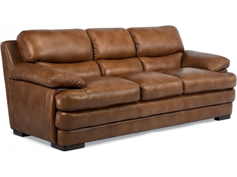 Living Room Dylan Leather Sofa 142273