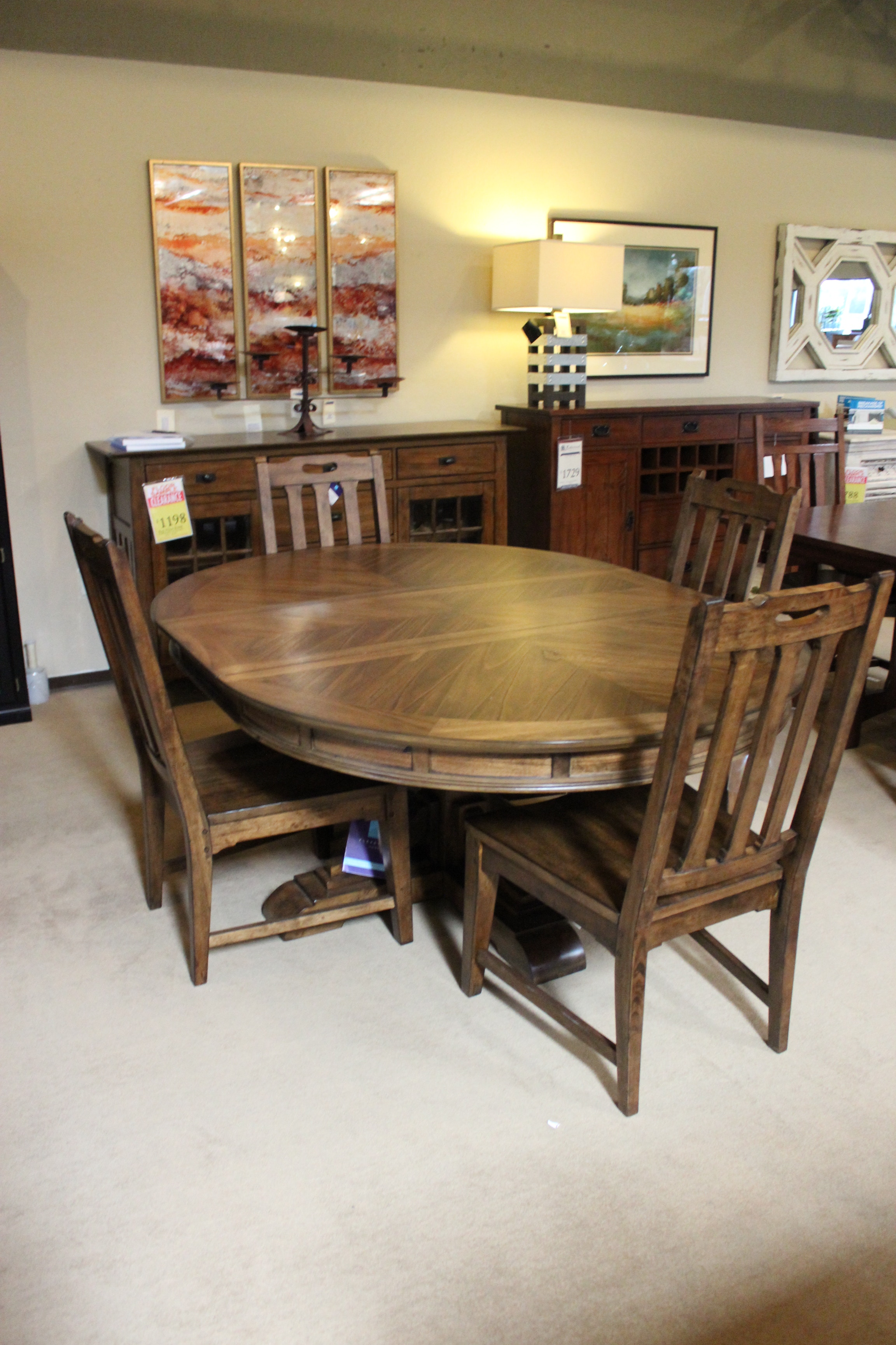 Clearance 5 Piece Dining Room Set 662452P