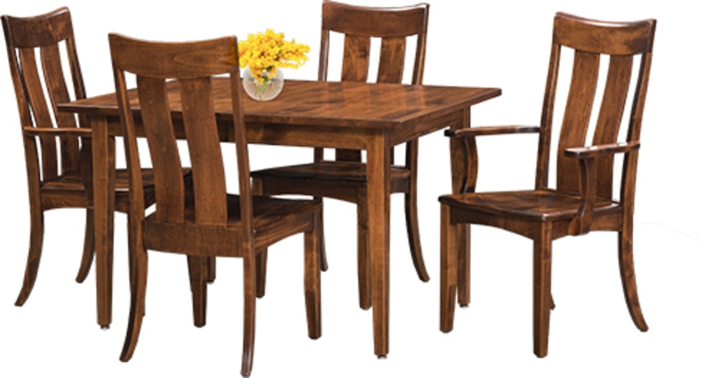 Awesome Arlington Solid Wood Dining Table 42X66 W 2 12 Leaves Beutiful Home Inspiration Cosmmahrainfo