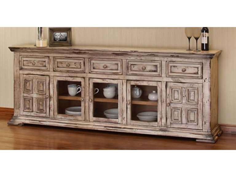Terra Old Linen 83 Tv Console