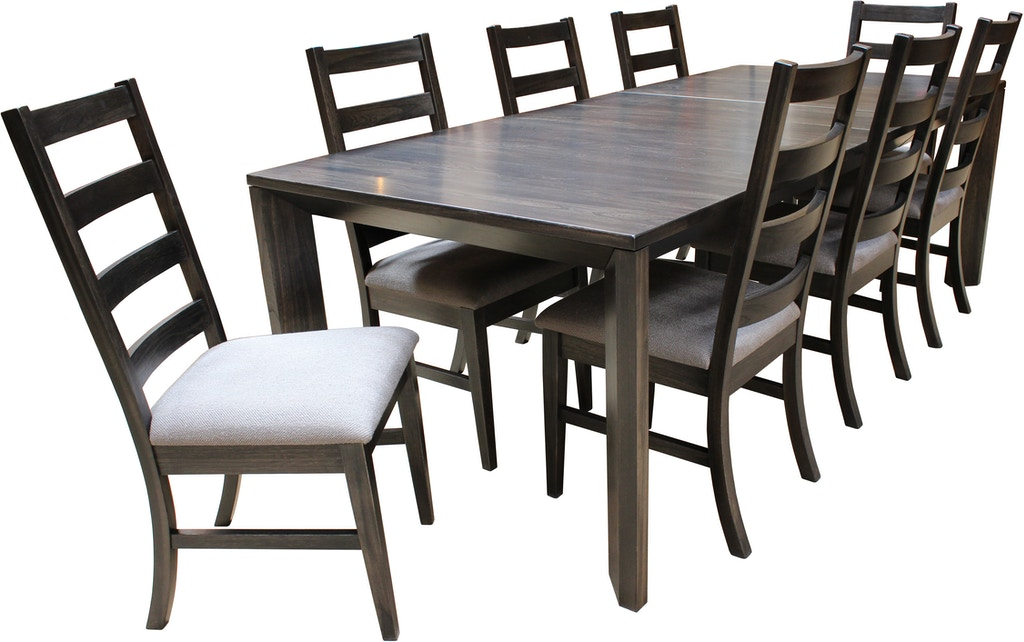 Sitka Solid Wood Dining Table 42x72 W 2 12 Self Storing Leaves