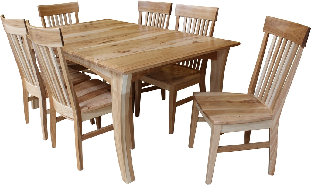 Fusion Designs Gibson Solid Wood Dining Table Is Available In The Sacramento Ca Area From
