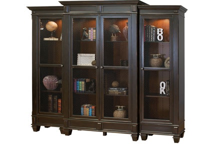 Clearance Living Room Bookcase Wall Unit 838973 At Naturwood Home  Furnishings