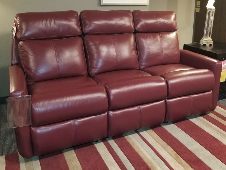 Leather Reclining Sofa 240594