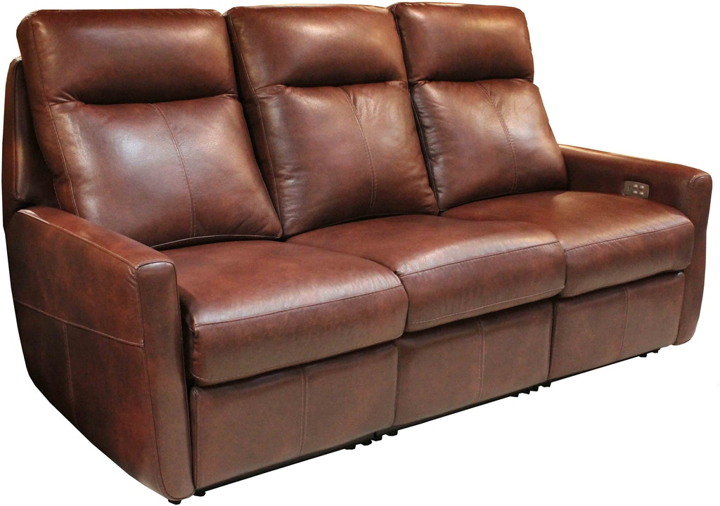 Top Grain Leather Reclining 3 Piece
