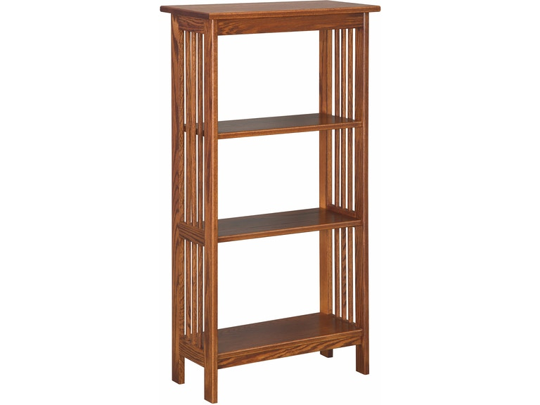 Country Value Woodworks Mission 2 Foot Bookshelf 046 - Portland