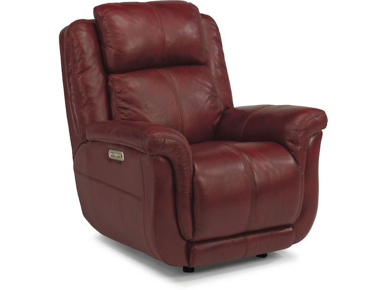 Flexsteel Brookings Leather Power Recliner 1251 54ph 418 60 Portland Or Key Home Furnishings