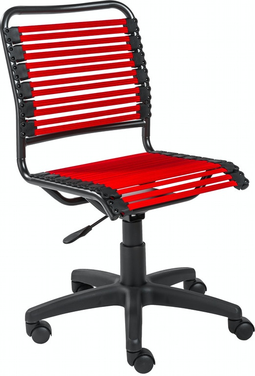 Euro Style Bungie Low Back Office Chair 12540red In Portland Oregon