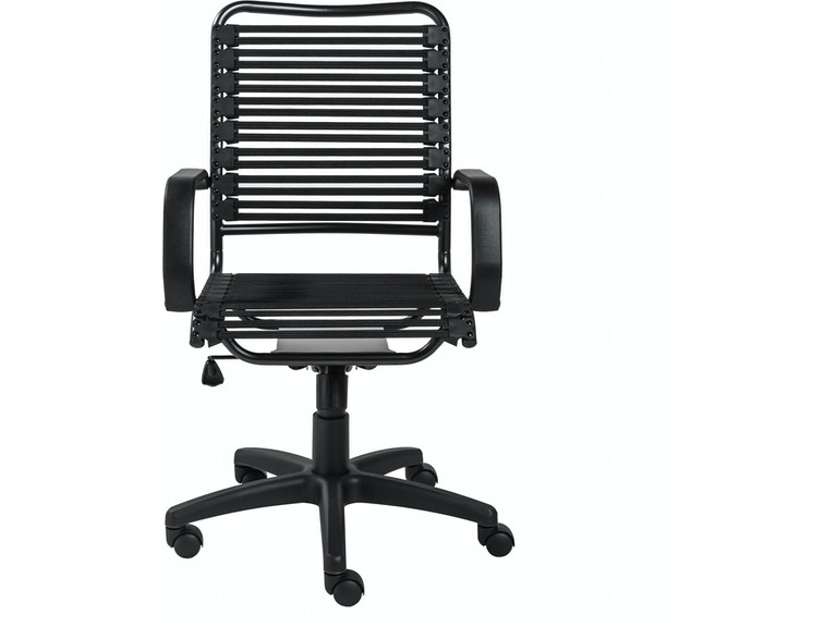 Euro Style Allison Bungie Flat High Back Office Chair 12542blk Portland Or Key Home