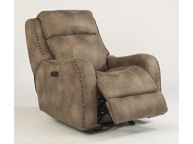 Flexsteel Springfield Fabric Power Reclining Sofa With