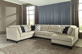 Ashley Beckendorf LAF Sofa, Armless Loveseat U0026 RAF Corner Chaise Sectional  15004 66