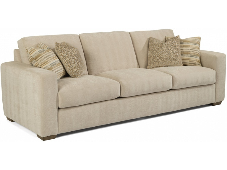 Flexsteel Collins Large Three Cushion Sofa 7107-32 ...
