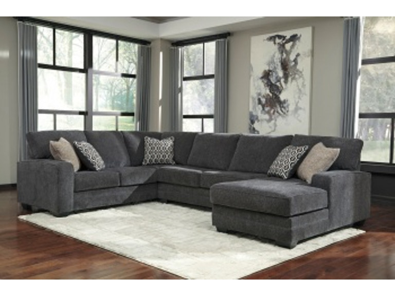 Ashley Tracling Laf Sofa Armless Loveseat Raf Corner Chaise Sectional 72600 66