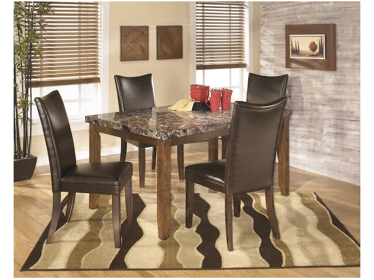 Ashley Lacey 5 Piece Rectangular Dining Room Set D328 25 01 In Portland