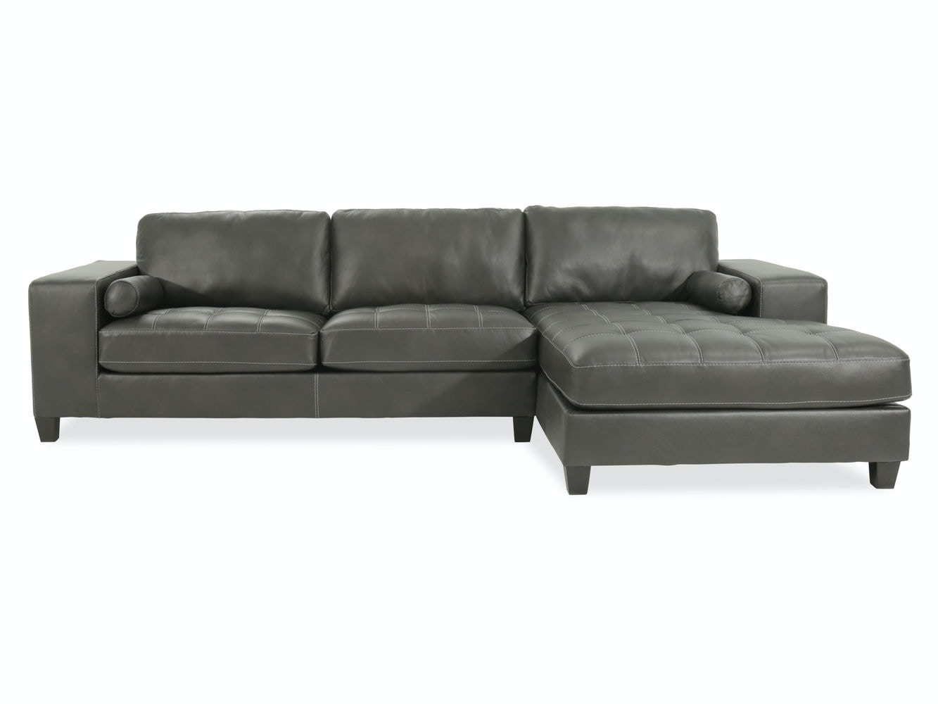 Ashley Nokomis LAF Sofa U0026 RAF Corner Chaise Sectional 87701 66 17 In  Portland