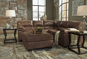 Ashley Bladen LAF Sofa, Ottoman U0026 RAF Loveseat Sectional 12000 66 56