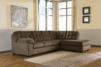 Ashley Accrington LAF Sofa U0026 RAF Corner Chaise Sectional 70508 66 17 In  Portland