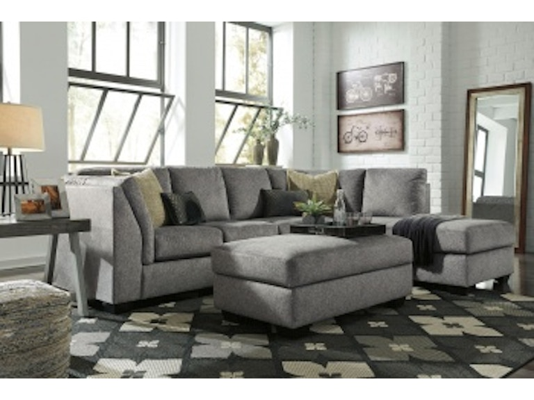 Ashley Belcastel Laf Sofa Storage Ottoman Amp Raf Corner