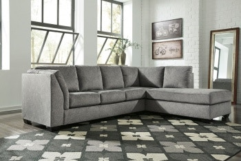 Ashley Belcastel LAF Sofa U0026 RAF Corner Chaise Sectional 72305 66 17 In  Portland