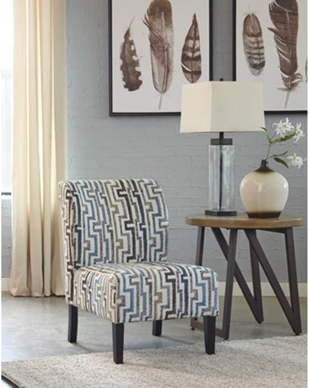 Marvelous Ashley Alsen Accent Chair 7390160 Portland Or Key Home Ocoug Best Dining Table And Chair Ideas Images Ocougorg