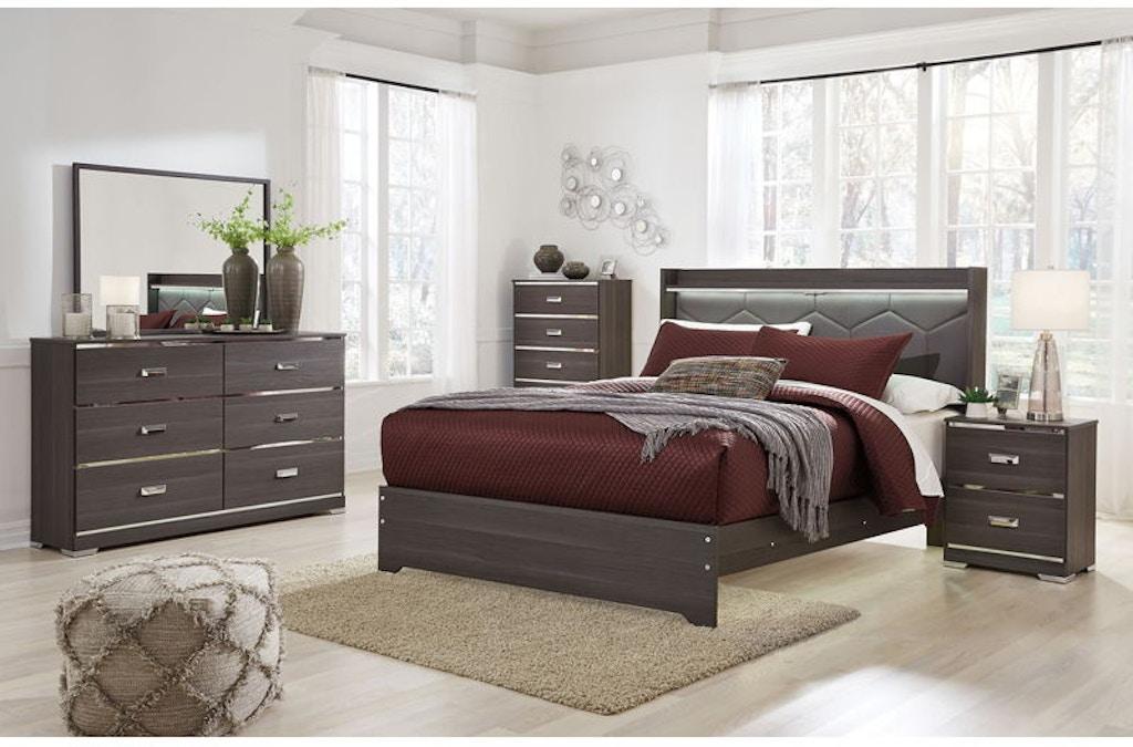 ashley annikus 6 piece queen bed set b132 21 26 46 57 - Bedroom Sets Queen