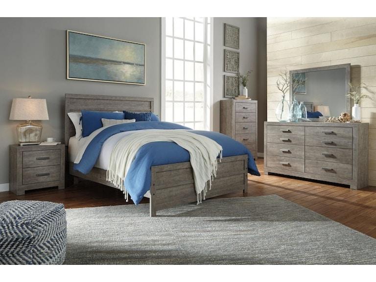 Ashley Culverbach 6 Piece Queen Bed Set B070 31 36 57 54 96 92