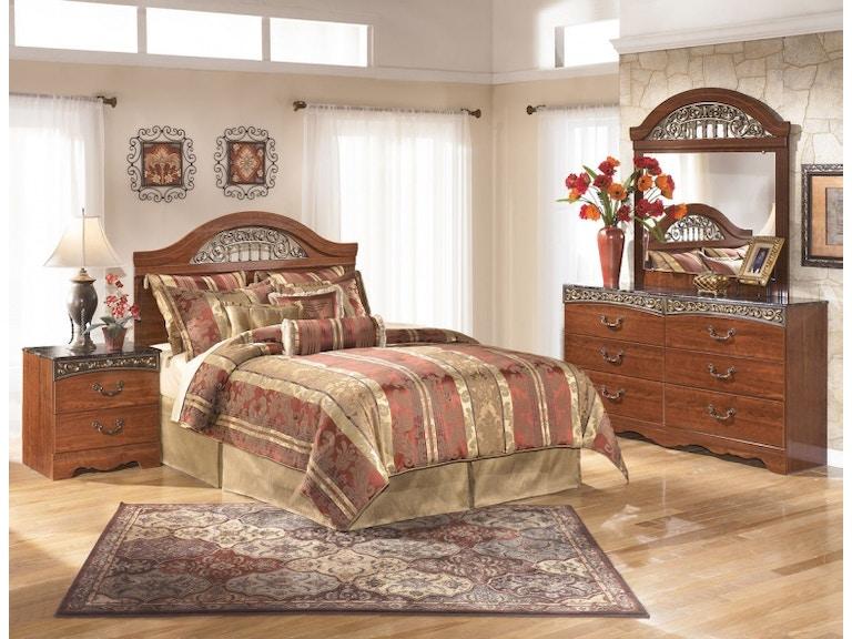 Ashley Fairbrooks Estate 4 Piece Queen Bed Set Portland