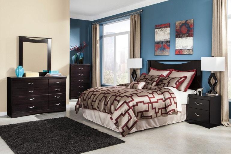 Merveilleux Ashley Zanbury 3 Piece Queen Bed Set B217 31 36 57 In Portland