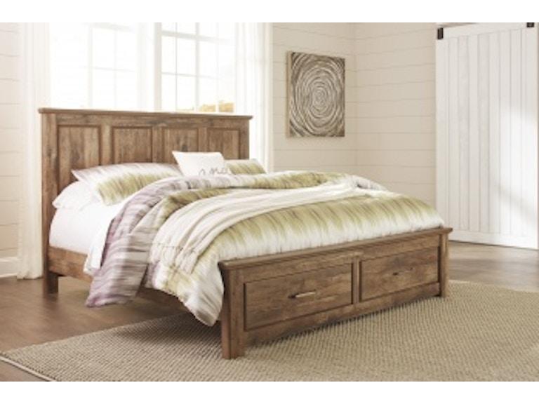 Ashley Blaneville 4 Piece King Bed Set Portland Or