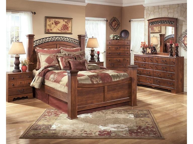 Ashley Timberline 7 Piece King Bed Set Portland Or Key Home Furnishings