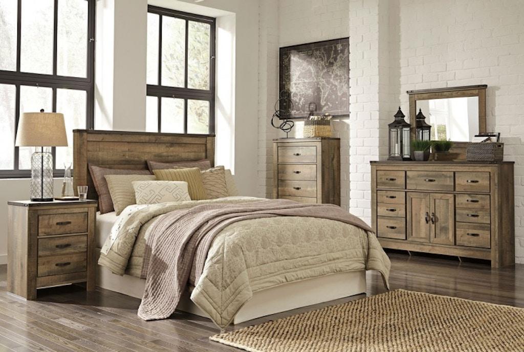 Ashley Trinell 4 Piece Queen Bed Set Portland Or Key